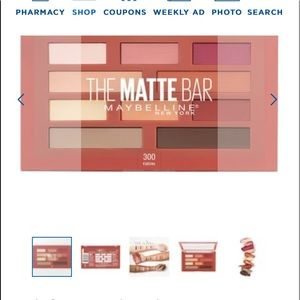 Maybelline the matte bar palette